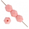 Fire Polished 4mm Opaque Pink